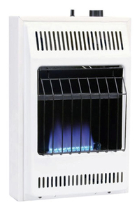 WILLIAMS 10000 BTU Blue Flame Vent-Free Natural Gas Wall Heater with Built-In Thermostat
