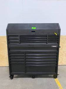 HUSKY Heavy-Duty 56 in. W 23-Drawer, Deep Combination Tool Chest and Rolling Cabinet Set