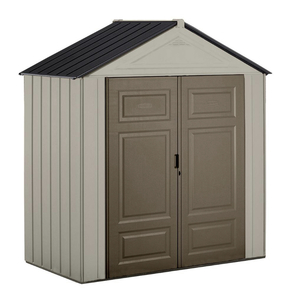RUBBERMAID Big Max Junior 3 ft. 5 in. x 7 ft. Storage Shed