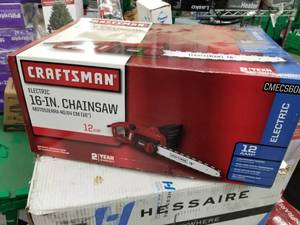 "Craftsman Electric 16"" Chainsaw (in box)"