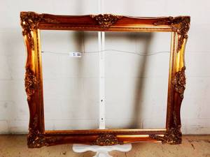 Vintage Beautiful Ornate 24x30 Photo Frame