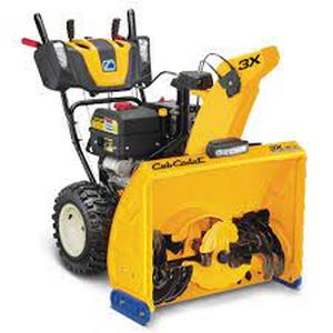 Cub Cadet 3X HD 30 in. 420 cc Three-Stage Gas Snow Blower with Electric Start Steel Chute Power Steering and Heated Grips  in like new Condition