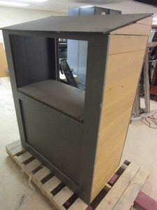BOOTH, WITH MANY POSSIBLE USES, TICKET BOOTH, CONCESSION/LEMONADE STAND, PUPPET THEATER, MORE
