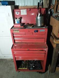 All American Tool Box Full Of Tools-Craftsman & Others