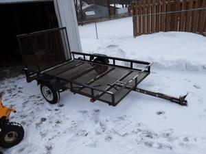 5 x 8 Utility Trailer With Ramp