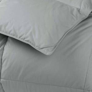 LaCrosse LoftAIRE Light Warmth Silver Queen Down Alternative Comforter, C3J5-Q-SILVER, NEW!