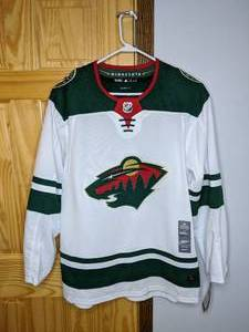 Brand New Adidas NHL Minnesota Wild Hockey Jersey Men's Size XL 54