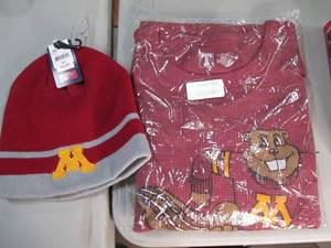 Minnesota Gophers fan gear. One siz...