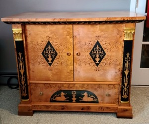 Biedermeier Entertainment Cabinet
