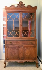 Beautiful Glass Front Display Hutch