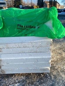 Pallet Lot Of Foam Insulation