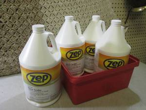 (EW5) 4 Gallons of Zep Floor Sealer...