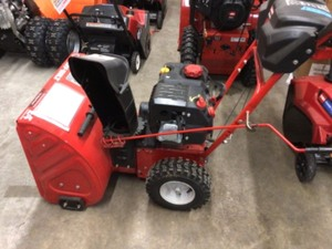 24 in. 208 cc Two-Stage Gas Snow Blower with Electric Start Self Propelled by Troy-Bilt In good conditions