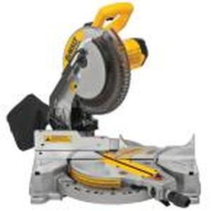 15 Amp Corded 10 in. Compound Single Bevel Miter Saw by DEWALT in good conditions