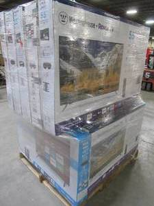 "UNTOUCHED Wholesale Pallet of 40"", 43"" & 55"" Smart Ultra HD TV's - OVER $ 2,500.00 RETAIL VALUE!!!!"