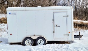 2011 Ameri Pro Enclosed Trailer