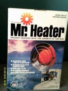 Mr. heater 8,000 to 12,000 btu radi...