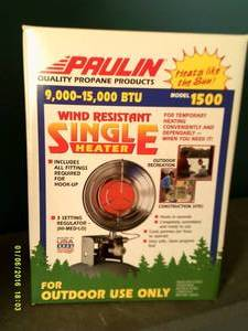 paulin wind resistante heater 9,000...