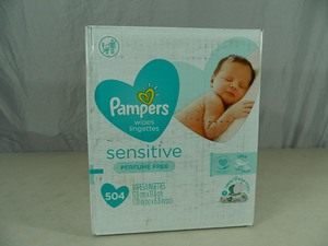 New 504 Count of Pampers Wipes