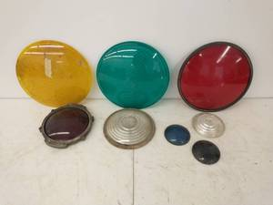 Collection of Glass Train Lenses
