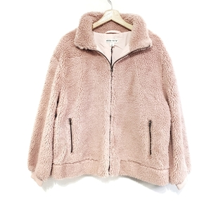 6 New Ava and Viv Pink Sherpa Bomber Jackets