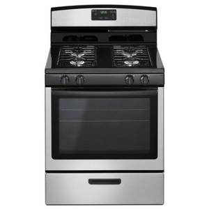 Amana 5.1 cu. ft. Gas Range in Stainless Steel, AGR5330BAS