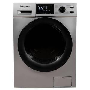 Magic Chef 2.7 cu. ft. Silver All-in-One Combo Washer and Dryer, MCSCWD27S5