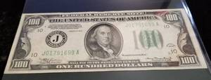 1934 US $100 FEDERAL RESERVE NOTE