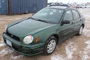 2003 Subaru Impreza TS AWD - 5 Speed Manual -