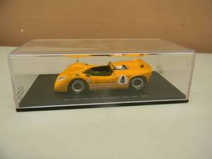 1/43 SCALE DIECAST McLAREN M6A  N0. 4  CHAMPION CAN-AM 1967 BRUCE McLAREN S1110 - NEW! - IN CASE! - SEE PICTURES!