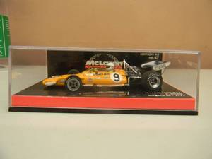 1/43 SCALE DIECAST McLAREN FORD M19 N0. 9 D. HULME MONACO GP 1971 - NEW! - IN CASE! - SEE PICTURES!