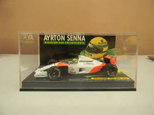 1/43 SCALE DIECAST McLAREN HONDA MP 4-6 N0.1 GERMAN GP 1991 WORLD CHAMPIOM - AWESOME PIECE!!!!! - NEW! - IN CASE! - SEE PICTURES!