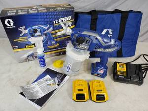 Graco TC Pro Cordless Airless 20 Volt Paint Sprayer