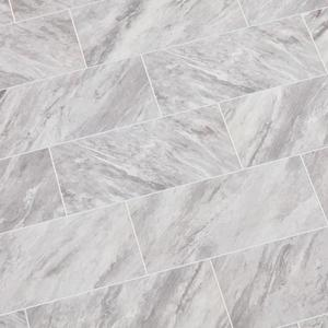 Newgate Gray Marble Matte 12 in. x 24 in. Glazed Ceramic Floor and Wall Tile (15.04 sq. ft./Case) by Daltile- set of 18 about 270.72 sq ft