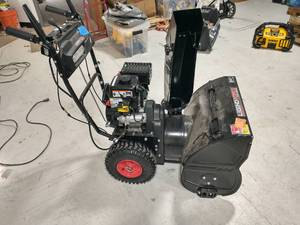 LEGEND FORCE 24 in. Two-Stage Gas Snow Blower with Electric Start