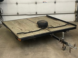 2020 Single-Axle Snowmobile Trailer