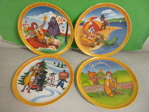 RONALD McDONALD COLLECTOR PLATES