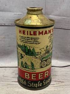 Hileman's Cone Top Old Style Lager Can (Worse Condition Sold Over $400 Ebay)