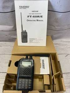 New FT-60 Dual Band Transceiver Antenna Radio (Sold For $274.00)