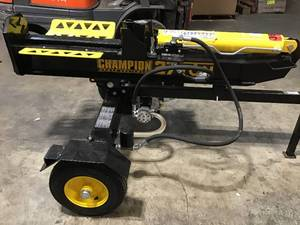 Champion 27 Ton 224 cc Log Splitter see pictures