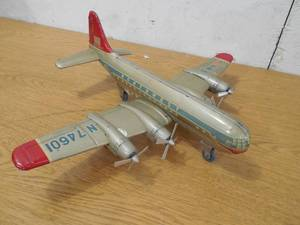 1950s Northwest Airlines Friction Tin Litho Plane
