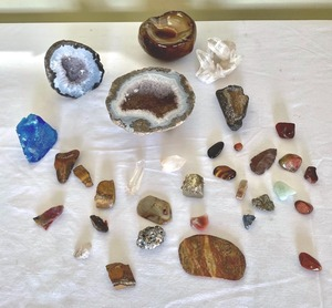 Stunning Geodes and Variety of Rocks