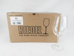 Set of 12 Riedel Restaurant XL 0447/00 Cabernet Wine Glasses