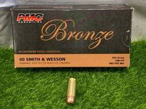 50 Rounds .40 S&W Ammo Ammunition