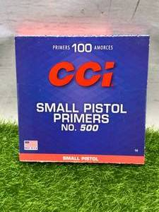 100 Small Pistol Primers No.500
