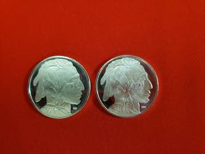 2-2019 Buffalo Silver Bullion Rounds