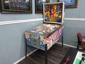 Bally 'Future Spa' Pinball Machine
