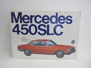 Large Vintage Entex Mercedes 450 SLC