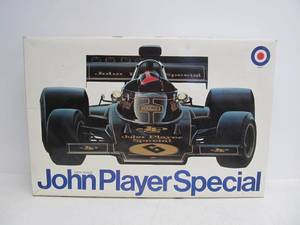 Large Vintage Entex JOHN PLAYER SPECIAL 1/8 Scale Race Car