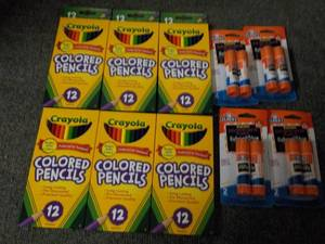 6 - 12 packs Crayola Colored Pencil...